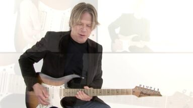 Andy Timmons Guitar Lesson - One Finger, One String Explanation - Melodic Muse