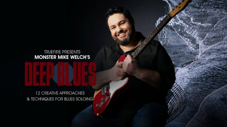 🎸 Mike Welch's Deep Blues - Intro - Guitar Lessons